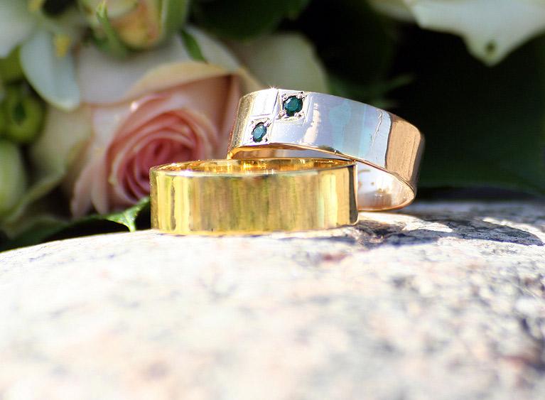 Модные обручальные кольца 2016